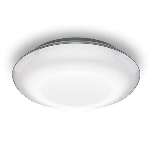 Steinel LED Deckenleuchte Dl Vario Quattro anthrazit, 360° Sensor in 4 Richtungen einstellbar, Schlagfest, Nachtlicht