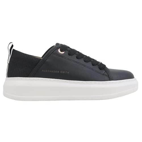 ALEXANDER SMITH EC112311 EcoWembley Sneaker Donna Nera Black, 37