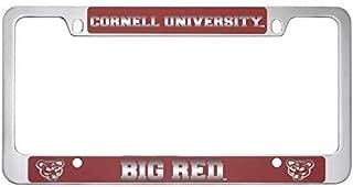 cornell university license plate frame