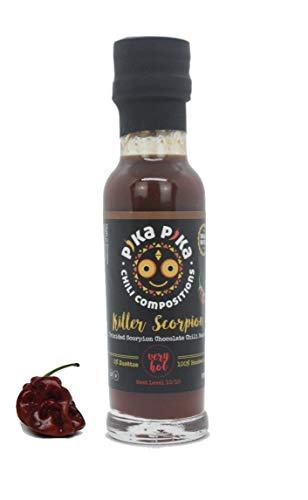 Killer Scorpion (100 ml.) - Salsa picante de Trinidad Scorpion / Nivel de picor: 10+ von 10 / Para Picanteros/ Slow Food …