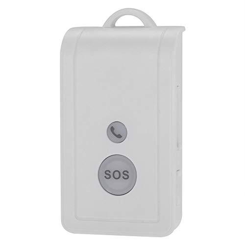 Cuidador Personal Inteligente Inalámbrico con Botón de llamada de Alarma, SIM Tarjeta Anciano ViejosMóvil Teléfono SOS Emergencia Llamada Alarma Sistema Pánico Botón, Kits de Seguridad