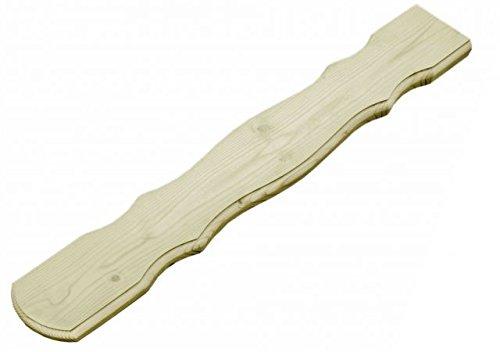 Balkonbrett für Holzbalkon (5 Stück) - Fichte - 4050/2 (18x880x140mm)