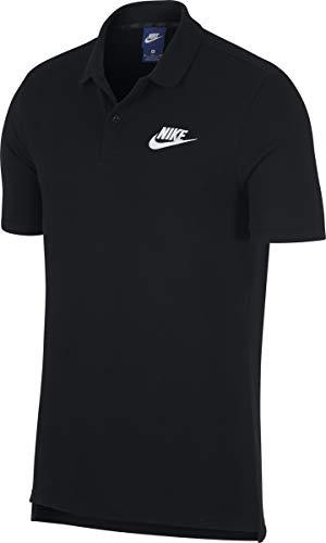 Nike Herren M NSW CE Matchup PQ Polo Shirt, schwarz, M