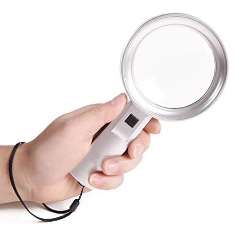 YUN TAO Handheld Vergrootglas Kind/Oudere/Amblyopie/Fysica Klasse Studenten Lezen HD Optische Elektronische Reparatie Oude Tekst Spelen om de Spiegel HD High Vision Lens uit te breiden