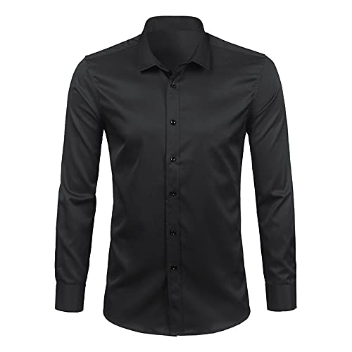 N\P Camisas de manga larga para hombre