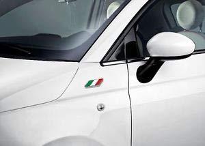 Origineel Fiat 500 modelteken embleem Italiaanse vlag - 50901681