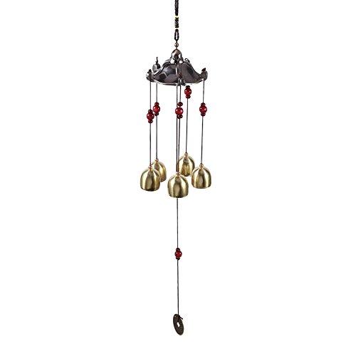 Carillon de Vent de Bonne Chance, Carillon de Vent Classique de voeux en Plein air, Ornements Suspendus pour Cloches décoratives pour Le Bureau