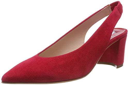 Maripe Damen 26653 Slingback Pumps, Rot (Red(CAMOSCIO RED-VAR.03) 4), 38 EU