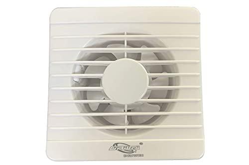 Aspiratore da muro 16W elimina odori ventola di scarico 15x15 cucina bagno APC-10A8