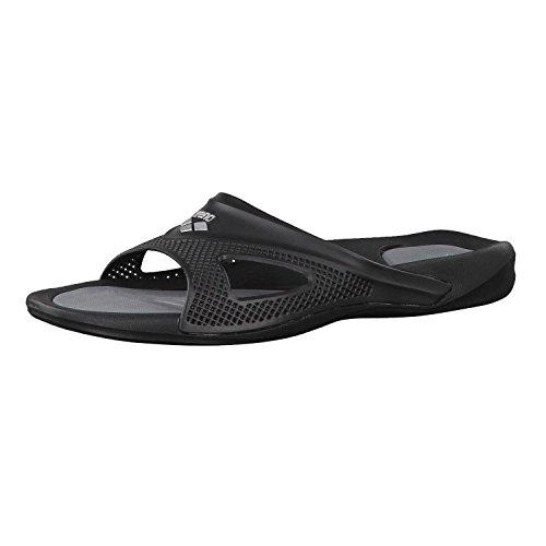 Arena Hydrofit Man Hook Zapatos de Playa y Piscina, Hombre, Negro Black 050, 43 EU