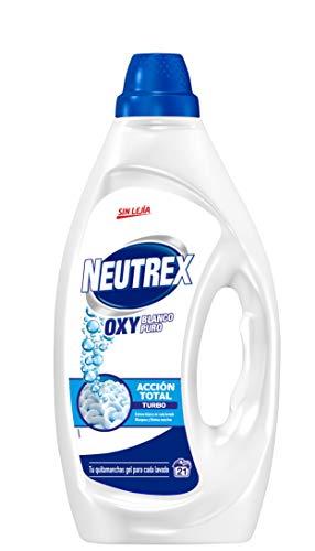 Neutrex Oxy Quitamanchas Líquido Sin Lejía para la ropa Blanco Puro - 1470 ml
