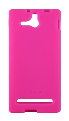 Ideus CAXPEUSIFU - Funda para Sony Ericsson Xperia U, fucsia