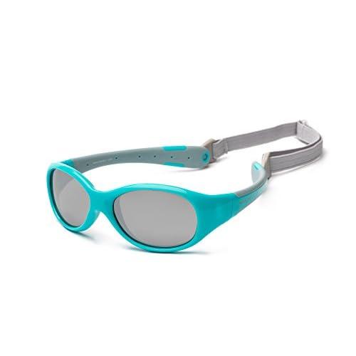 Koolsun Flex Aqua Grey - Occhiali da sole Aqua Grey 0+ (0-3 Ans)
