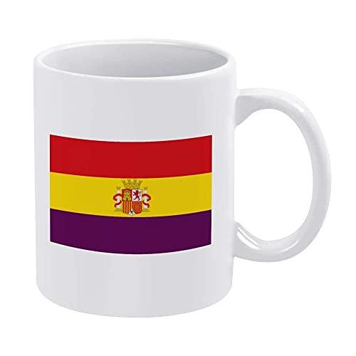 Eastlif Bandera de España Taza de la Taza de café Puede acomodar