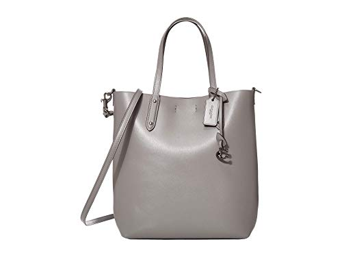 COACH Central Shopper Tote Heather Grey/Gunmetal One Size