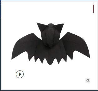 Idepet Dog Cat Halloween Costume Bat Wings and Bat Hat,Black Cool Puppy Kittens Black Bat Transfiguration Christmas Hoilday Costume Decoration Accessories Clothes for Small Medium Dogs Cats