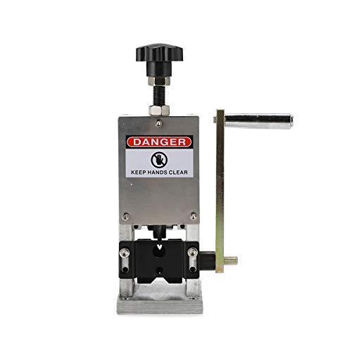 Sfeomi Abisoliermaschine hand kabelschälmaschine kabelabisoliermaschine Manuelle Schraube Schneidwerkzeug 1,5 mm bis 25 mm für das Recycling von Kupferschrott