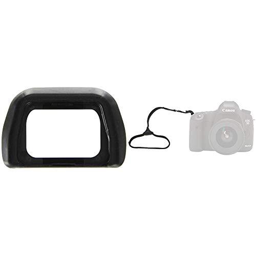 Sony FDA-EP 10 Okularmuschel (passend für a6000, NEX-6, NEX-7) und Amazon Basics - Kamera-Handgelenkschlaufe
