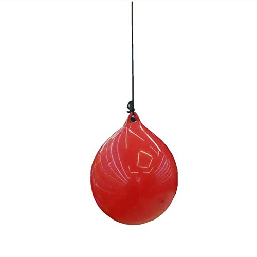 HoneybeeLY - Pelota de Boxeo para Entrenamiento de Velocidad de inyección de Agua, reacciones de Pelota de Boxeo, Saco de Boxeo para Adultos y niños, Mejora el punzón y el Enfoque, Deporte y Fitness