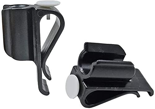 2 Pack Golf Putter Clip Golf Bag Clip on Putter Clamp Holder Golf Putter Clip Organizer Ball Marker for Golf Accessories