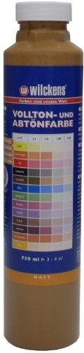Wilckens Vollton- & Abtönfarbe Caramel 750 ml