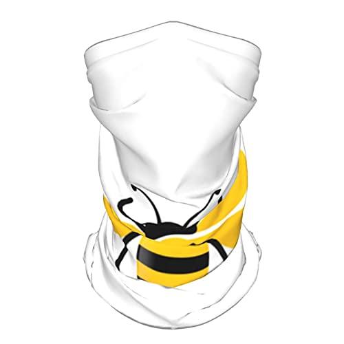 Cubierta de neumático de Repuesto Bee Icon Animals Mascarilla UV,Polaina para el Cuello Balaclava Bandana Headwear,Ice Silk Cooling Sports Face Scarf para el Polvo al Aire Libre.