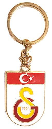 Galatasaray Istanbul 1905 Schlüsselanhänger Keyholder Metal Anahtarlik Wappen Oval