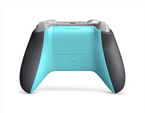Microsoft Xbox One Wireless Controller - Grey and Blue