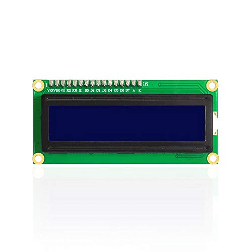 un known 16X2 1602 I2C/TWI LCD Display Module for ArduinoS R3 MEGA 2560 White in Blue Accessory Compatible Replacement