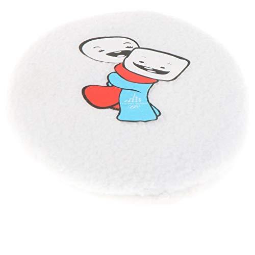 Earbags für Kinder Ohrenwärmer Ohrenschützer Mütze Mit Clip Schnur Stirnband Warme Ohren Original, 824, Farbe Gliz & Neve Weiß ohne Schnur, Größe S