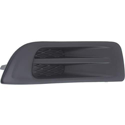 For Subaru Outback Fog Light Cover 2010 2011 2012 Passenger Side | Grille Bezel | Textured Black | SU1039102 | 57731AJ54A