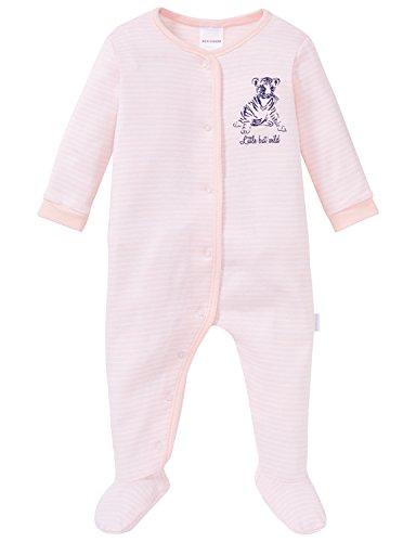 Schiesser Unisex Baby Bekleidungsset Anzug mit Fuß, Rot (Rosé 506), 056