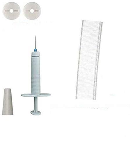 NMSLL Nadelfreie Bettbezug-Clips - Tragbares, rutschfestes Knopffixier-Set, tragbare Greifer, Clip-Klemme, Bettbezug-Bettbezug-Bettlakenhalter, rutschfeste Sets mit 2 Lochpistolen 15mm 24 Buckle