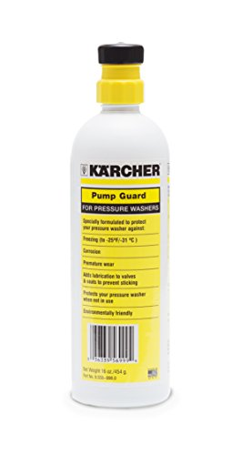 Karcher Pump Guard Anti-Freeze Protection for Electric & Gas Power Pressure Washers, 16oz