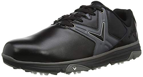 Callaway Chev Comfort 2020 Zapato de golf impermeable sin clavos Hombre, Negro, 43 EU