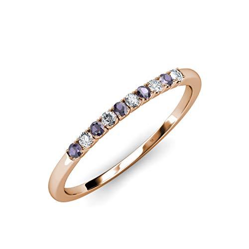 Diamond Iolite Jewelry Set - 1