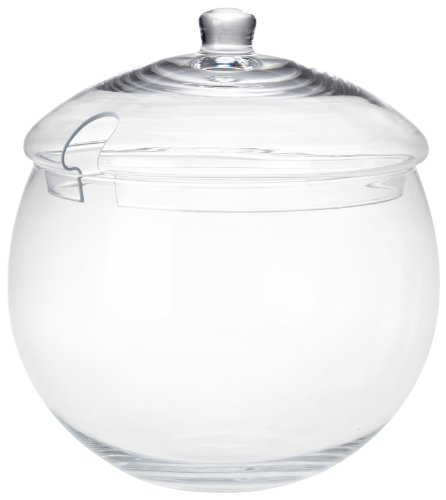 Leonardo Punch Bowle, 2-teiliges Set, 6,2 l, spülmaschinengeeignet, handgefertigtes Klarglas, 026282