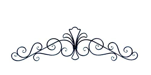 Collectible Badges Decorative Wrought Iron Metal Wall Plaque