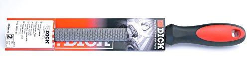 Dick Raspel 2K 250 mm (Raspel für allgemeine Arbeiten, Halbrund mit Hieb 2, Stahl, Eisen, NE-Metall) 3552252-2K