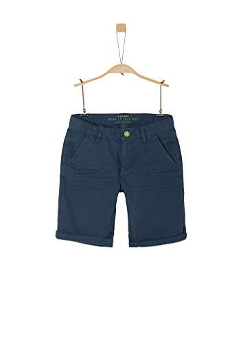 s.Oliver Junior 402.10.004.18.180.2037892 Shorts, Jungen, Blau 176 REG