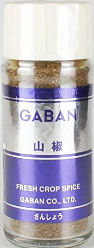 GABAN 山椒 15g×6本 業務用 常温 山椒粉 さんしょう パウダー