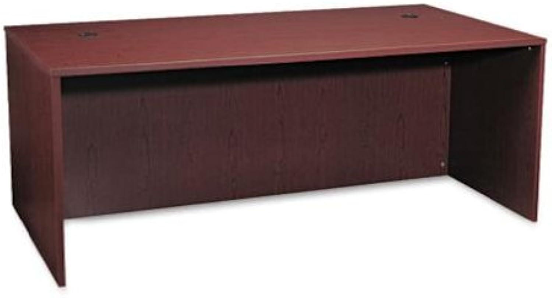 Hon - Rectangular Desk Shell, Mahogany Finish, 72W X 36D X 29H (Bsxbl2101Nn)