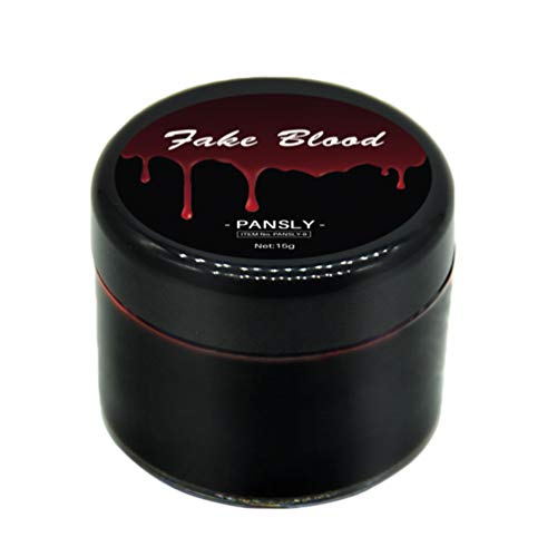 Holibanna Halloween Plasma de Sangre Gel de Sangre Comestible Pintura Corporal Halloween Horror Rojo