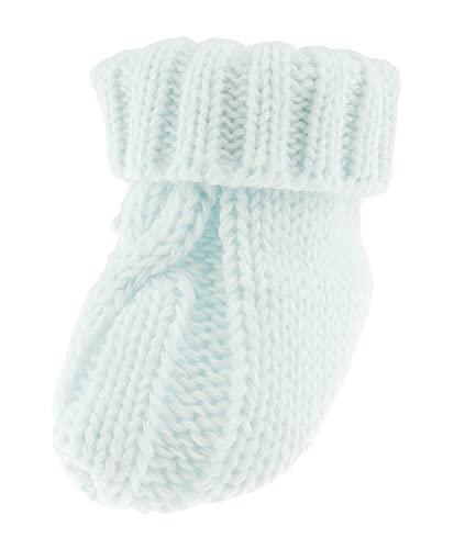 Chaussons confortables en coton épais pour bébé garçon - Bleu - bleu bébé, Taille unique