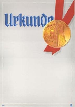Albert Hoffmann Urkundenverlag Fußball / 930 / 965 / Tor / PC-Urkunden (170 g/m²) 10 Stk