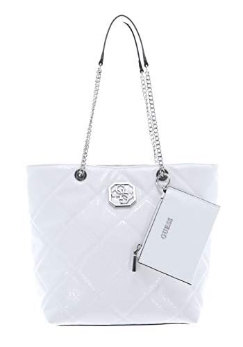 Guess Dilla Elite Society Carryall White