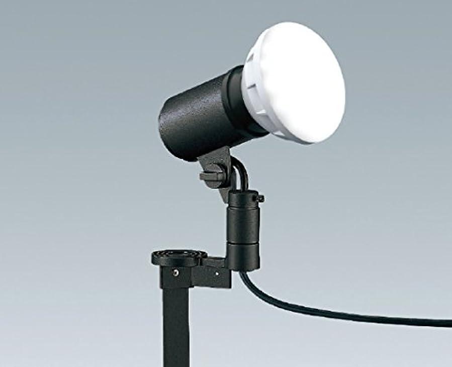 偏心神秘霊遠藤照明+LEDスポットライト+スパイクタイプ+色ダークグレー ERS4981H