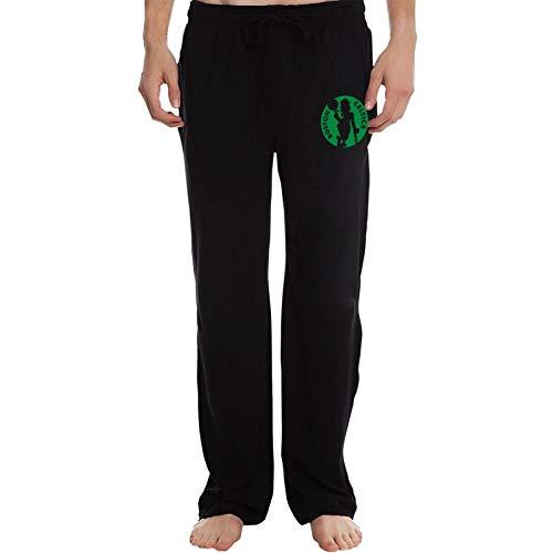Etdai Men's Pants Straight Leg Loose Sweatpants Boston Basketball Fans Celtic Yoga Pants Casual Athletic Pants Black