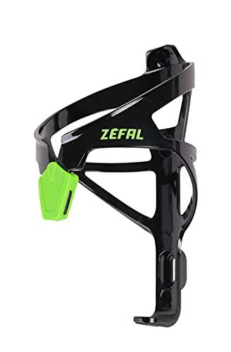 Zefal Unisex– Erwachsene Pulse A2 Trinkflaschenhalter, schwarz/grün, One Size