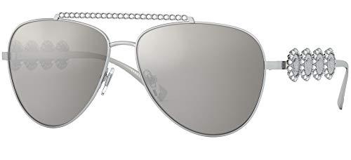Versace Sonnenbrillen MEDUSA JEWEL VE 2219B SILVER/GREY 59/14/140 Damen